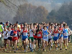 08-12-2013 ATHLETICS: SPAR EC CROSS COUNTRY: BELGRADE<br /> Junior men 6 km / Start met Isaac Kimeli BEL<br /> ©2013-WWW.FOTOHOOGENDOORN.NL