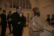 Andrea Tarsia and the Italian Ambassador's wife, Margaret Salmon supported by Max Mara. Whitechapel. 24 January 2007.  -DO NOT ARCHIVE-© Copyright Photograph by Dafydd Jones. 248 Clapham Rd. London SW9 0PZ. Tel 0207 820 0771. www.dafjones.com.