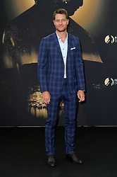 """Justin Hartley during the Monte Carlo, 57th Festival of Television Photocall """"This Is Us"""""""