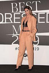 Melissa Satta at the photocall of GQ Best Dressed Men 2019  Milan,Italy, 11 January 2019  (Credit Image: © Nick Zonna/Soevermedia via ZUMA Press)