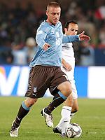 Fotball<br /> Italia v USA<br /> 15.06.2009<br /> Confederations Cup 2009<br /> Foto: Gepa/Digitalsport<br /> NORWAY ONLY<br /> <br /> Bild zeigt Daniele De Rossi (ITA) und Landon Donovan (USA)