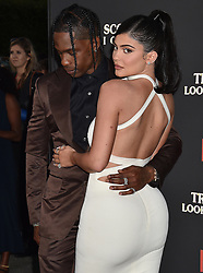 Travis Scott, Kylie Jenner arriving at theTravis Scott: Look Mom I Can Fly Premiere. 27 Aug 2019 Pictured: Travis Scott, Kylie Jenner. Photo credit: MEGA TheMegaAgency.com +1 888 505 6342