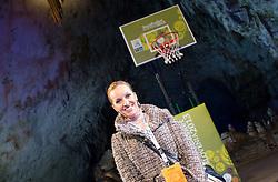 Sanja Modric during FIBA Europe Eurobasket 2013 draw ceremony on November 18, 2012 in Postojna cave, Postojna, Slovenia. (Photo By Vid Ponikvar / Sportida)