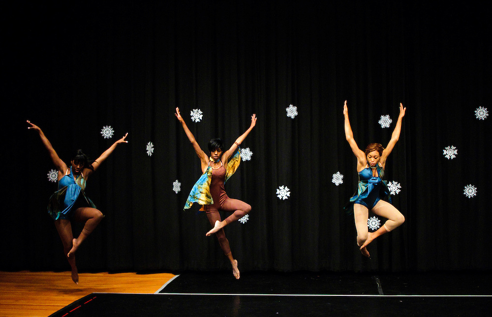 (photo by Matt Roth)..SUNSHINE.Inertia Performing Arts and Expressions in Motion's 2009 Winter Wonderland performance held at the University of Baltimore's Langsdale Auditorium Saturday, December 12, 2009.