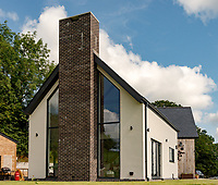 Beguildy, Powys, New build local Needs Home by Chrysalis Architectural Design.