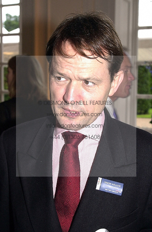 MR SIMON WALKER the new communications secretary of the <br /> Royal Household, at a reception in London on 12th July 2000.OGG 39<br /> © Desmond O'Neill Features:- 020 8971 9600<br />    10 Victoria Mews, London.  SW18 3PY <br /> www.donfeatures.com   photos@donfeatures.com<br /> MINIMUM REPRODUCTION FEE AS AGREED.<br /> PHOTOGRAPH BY DOMINIC O'NEILL