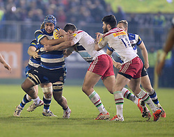 - Photo mandatory by-line: Alex James/JMP - Mobile: 07966 386802 - 28/11/2014 - SPORT - Rugby - Bath - Recreation Ground - Bath  v Harlequins  - Aviva premiership