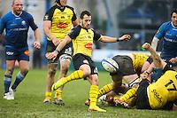 Julien Audy - 03.01.2015 - Castres / La Rochelle - 15eme journee de Top 14 - <br />Photo : Laurent Frezouls / Icon Sport