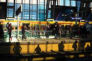 Afternoon shadows, Berlin Alexanderplatz Bahnhof