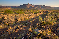 Stock photo of the Davis Mountain Range, Jeff Davis County, Texas