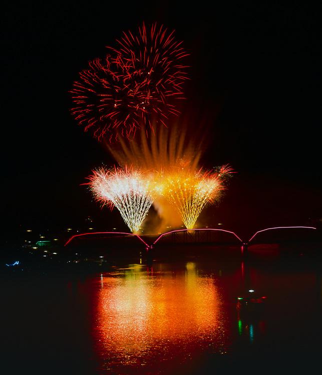 Saskatoon PotashCorp Fireworks Festival, Saturday night fireworks, September 3, 2011