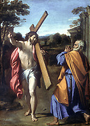 Christ appearing to Simon Peter after his Resurrection. Annibale Carraci (1560-1609) Italian painter.