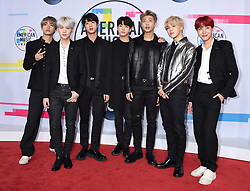 2017 American Music Awards held at the Microsoft Theatre L.A. Live on November 19, 2017 in Los Angeles, CA. 19 Nov 2017 Pictured: BTS. Photo credit: Tammie Arroyo/AFF-USA.com / MEGA TheMegaAgency.com +1 888 505 6342
