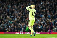 2016.11.01 Manchester<br /> Pilka nozna Liga Mistrzow sezon 2016/2017<br /> Manchester City - FC Barcelona<br /> N/z Willy Caballero<br /> Foto Sebastian Frej / PressFocus<br /> <br /> 2016.11.01 Manchester<br /> Football Champions League season 2016/2017<br /> Manchester City - FC Barcelona<br /> Willy Caballero<br /> Credit: Sebastian Frej / PressFocus