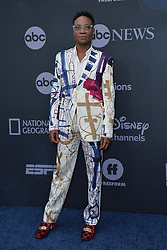 May 14, 2019 - New York, NY, USA - May 14, 2019  New York City..Billy Porter attending Walt Disney Television Upfront presentation party arrivals at Tavern on the Green on May 14, 2019 in New York City. (Credit Image: © Kristin Callahan/Ace Pictures via ZUMA Press)