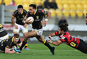 Lions Pepesana Patafilo during the Mitre 10 Cup rugby match between the Wellington Lions & Canterbury at Westpac Stadium, Wellington. Friday 23rd August 2019. Copyright Photo: Grant Down / www.Photosport.nz