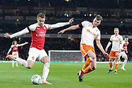 Arsenal v Blackpool 311018