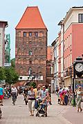 Chojnice, 2011-07-08. Brama Człuchowska w Chojnicach