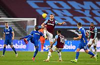 Football - 2020 / 2021 Premier League - West Ham United vs Brighton & Hove Albion - London Stadium<br /> <br /> West Ham United's Tomáš Sou?ek battles with Brighton & Hove Albion's Yves Bissouma.<br /> <br /> COLORSPORT/ASHLEY WESTERN