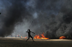 Dozens Killed Thousands Wounded in Clashes - Gaza 15 May 2018