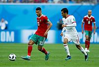 Younes Belhanda (Morocco)<br /> Saint Petersburg 15-06-2018 Football FIFA World Cup Russia  2018 <br /> Morocco - Iran / Marocco - Iran <br /> Foto Matteo Ciambelli/Insidefoto