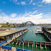 Circular Quay towards Sydney Harbour Bridge