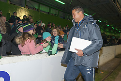December 3, 2016 - Galway, Ireland - Head Coach Pat Lam of Connacht thanks his fans after the Guinness PRO12 Round 10 match between Connacht Rugby and Benetton Treviso at the Sportsground in Galway, Ireland on December 3, 2016  (Credit Image: © Andrew Surma/NurPhoto via ZUMA Press)