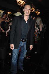 Dancer BRENDAN COLE at the grand opening of the Amika nightclub, 65 High Street Kensington, London on 28th February 2007.<br />