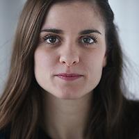 Nederland, Amsterdam , 19 december 2014.<br /> Actrice Rosa da Silva.<br /> Rosa da Silva  Anne Frank vertolkt in de nieuwe theatervoorstelling ANNE. Vanaf mei 2014 is ANNE te zien in Theater Amsterdam in het Houthavengebied in Amsterdam.<br /> Foto:Jean-Pierre Jans