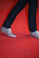 Cast members of the film Antiviral - and their shoes -  attending the gala screening of The Sapphires at the 65th Cannes Film Festival. Saturday 19th May 2012 in Cannes Film Festival, France.