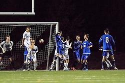 Garrett Dickey in goal