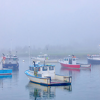 Foggy Massachusetts harbor fine art photography of Marshfield Town Pier Landing, Massachusetts. The fog beautifully created a serene harbor scenery.<br /> <br /> Foggy Massachusetts fine art photography image artwork of Marshfield Town Pier Landing is available as museum quality photography prints, canvas prints, acrylic prints, wood prints or metal prints. Prints may be framed and matted to the individual liking and decorating needs: <br /> <br /> https://juergen-roth.pixels.com/featured/fishing-boats-at-marshfield-town-landing-juergen-roth.html<br /> <br /> Good light and happy photo making!<br /> <br /> My best,<br /> <br /> Juergen