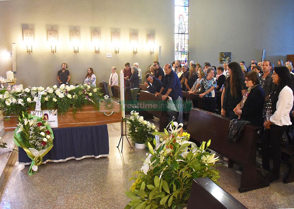 Italy, Rimini - September 29, 2018.The funeral of Maurizio Zanfanti called ZANZA 'the king of the playboy' (Credit Image: © Manuel Migliorini/Ropi via ZUMA Press)