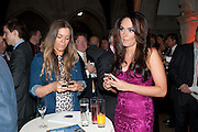 LUCY PACKMAN; TAMARA ECCLESTONE,  THE FABERGÉ BIG EGG HUNT AUCTION in aid of Action for Children. Royal Courts of Justice. London. 20 March 2012.
