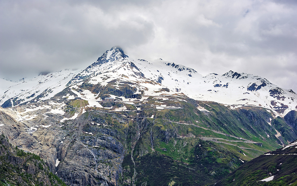 Switzerland - Furkahorn in Furka Pass