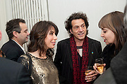 MARK HIX; LAUREN PRAAKE; STEPHEN WEBSTER, Do Not Abandon Me - private view od wok by Tracey Emin alongside that of Louise Bourgeois. <br /> Hauser & Wirth London, 15 Old Bond Street, London, 17 February 2011. -DO NOT ARCHIVE-© Copyright Photograph by Dafydd Jones. 248 Clapham Rd. London SW9 0PZ. Tel 0207 820 0771. www.dafjones.com.