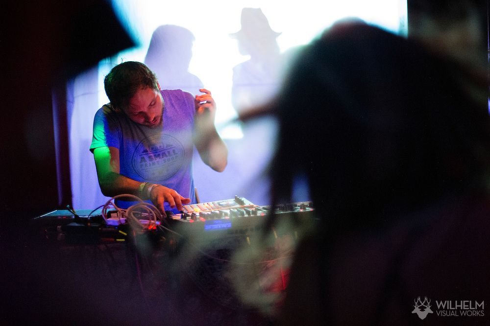 RUMTUM performs at Blue Ice Lounge during the Underground Music Showcase in Denver, CO, USA, on 25 July, 2015.