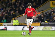 Manchester United Defender Victor Lindelof during the The FA Cup match between Wolverhampton Wanderers and Manchester United at Molineux, Wolverhampton, England on 16 March 2019.