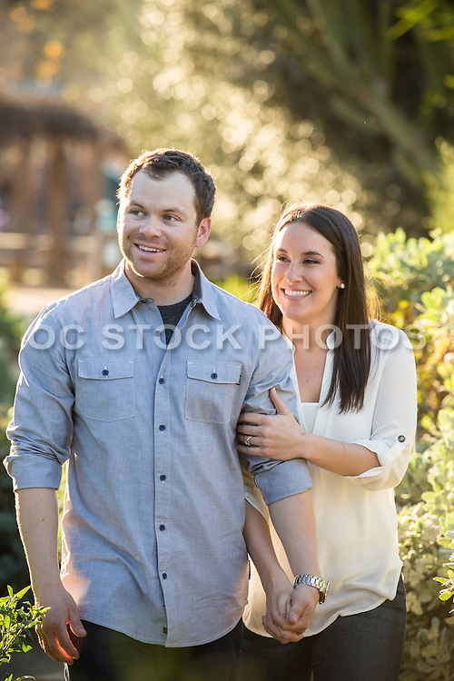 Young Couple Enjoying the Outdoors
