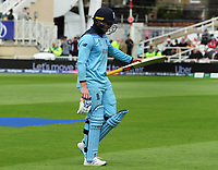 Cricket - 2019 ICC Cricket World Cup - Group Stage: England vs. Pakistan<br /> <br /> Jason Roy of England walks back to the Pavillion after being caught LBW early on in their innings, at Trent Bridge, Nottingham.<br /> <br /> COLORSPORT/ANDREW COWIE