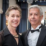 NLD/Amsterdam/20150511 - uitreiking Libris Literatuurprijs 2015, Ronald Plasterk en partner Els Beumer