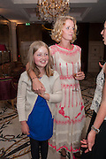 FRANKIE NICOLSON; CLEMMIE MACMILLAN-SCOTT, Juliet Nicolson - book launch party for  her latest novel Abdication, about British society after the death of George V.  The Gallery at The Westbury, 37 Conduit Street, Mayfair, London, 12 June 2012