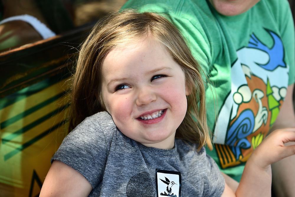 Abigail savors the pride of accomplishment that comes when you complete Cyclovia Tucson.