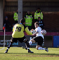 Photo: Mark Stephenson/Richard Lane Photography. <br /> Hereford United v Bury. Coca-Cola League Two. 21/03/2008. Bury's Darren Randdolph saves Ben Smiths shot