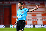 Referee Kevin Clancy during the UEFA Europa League, Group E football match between PSV and Omonia Nicosia on December 10, 2020 at Philips Stadion in Eindhoven, Netherlands - Photo Perry vd Leuvert / Orange Pictures / ProSportsImages / DPPI