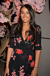 Cora Corre at the Warner Music Group and British GQ Summer Party in partnership with Quintessentially held at Nobu Shoreditch Willow Street, London England. 5 July 2017.<br /> Photo by Dominic O'Neill/SilverHub 0203 174 1069 sales@silverhubmedia.com