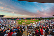 [Note:  This HDR photo was created by merging several exposures during post-production] A general view of Hammond Stadium during a spring training game between the Pittsburgh Pirates and the Minnesota Twins in Ft. Myers, Florida on March 13, 2013.