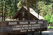 The Pioneer Yosemite History Center in Wawona, Yosemite National Park (World Heritage Site), California