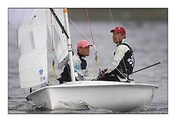 470 Class European Championships Largs - Day 6..CRO83, Sime FANTELA, Igor MARENIC .