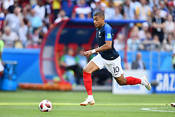 Kylian Mbappé in action during the 2018 FIFA World Cup Russia 1/8 final match between France and Argentina in Kazan, Russia on June 30, 2018. Photo by Lionel Hahn/ABACAPRESS.COM